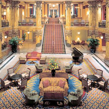 "The Jefferson Hotel - The ""Gone With the Wind"" staircase ..."