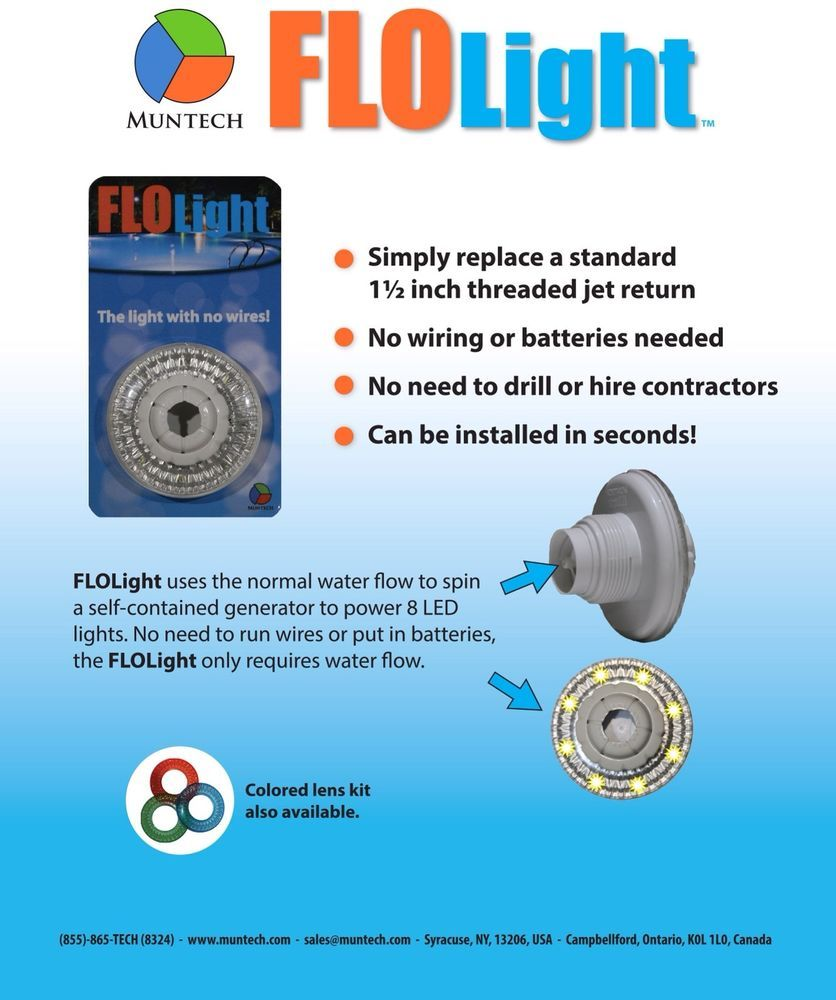 small resolution of led pool flo light return light for above and in ground pools or european plug wiring diy pool wiring