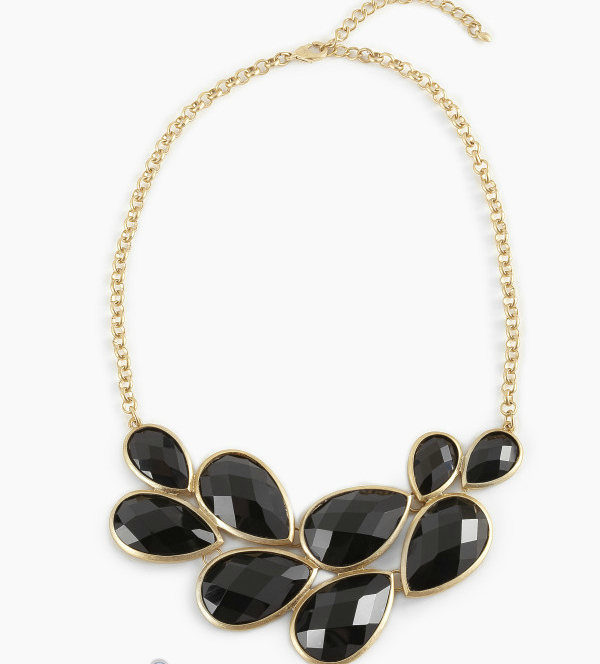 Day 6 of LuxeFind's Ultimate Giveaway - Glass Teardrop Art Deco Necklace!