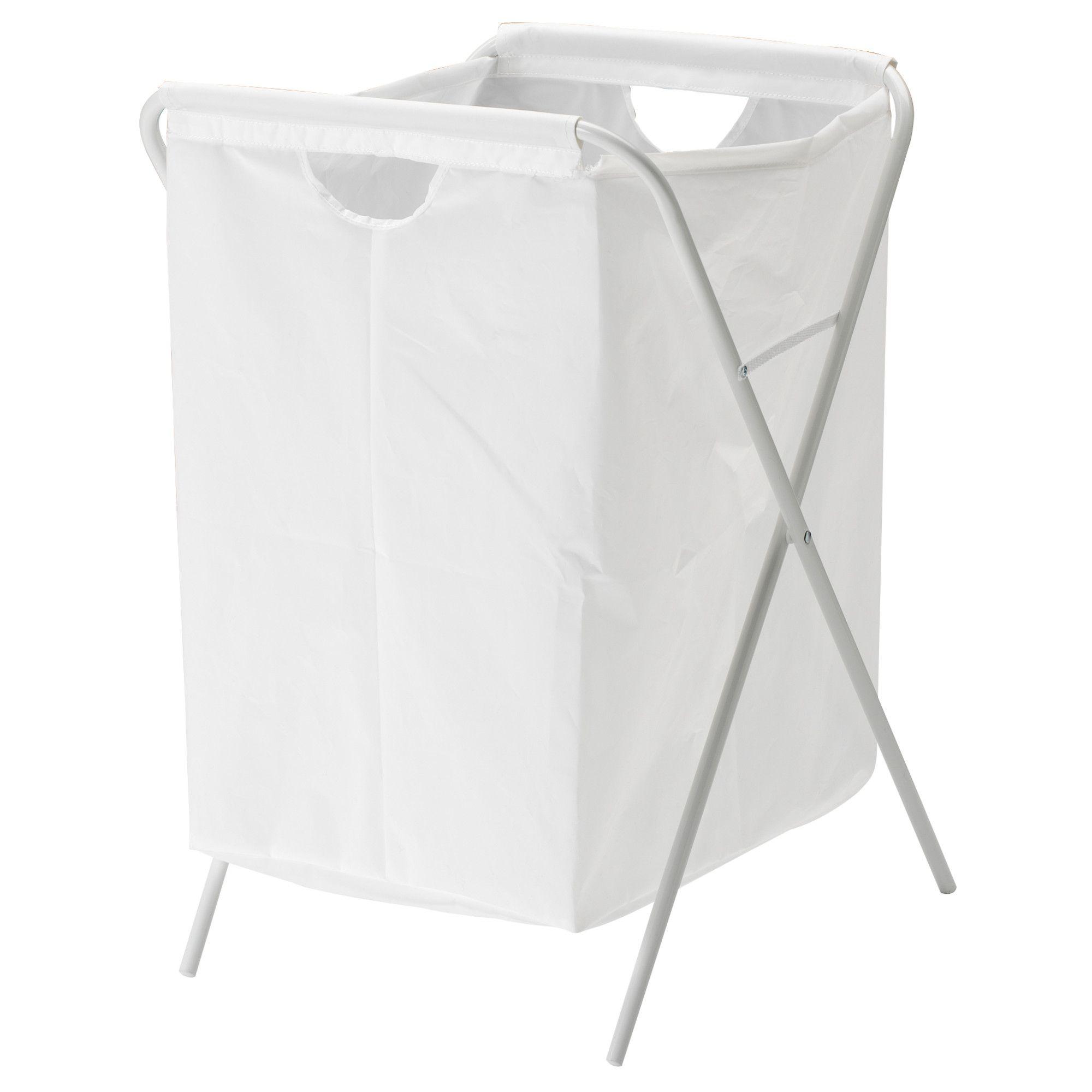 Ikea Jall White Laundry Bag With Stand Ikea Laundry Basket Ikea