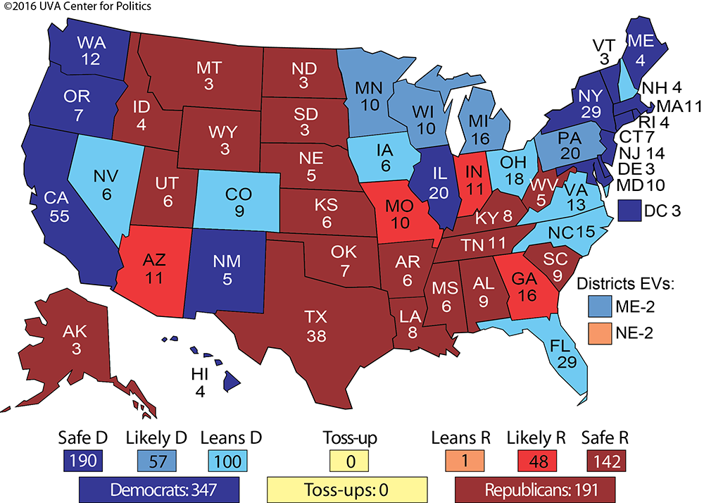 This Map Uses Science To Predict The Election And Republicans Will