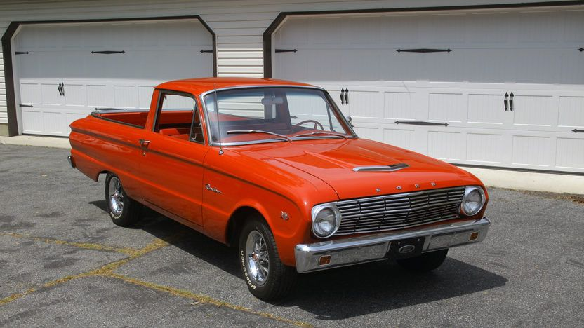 1963 Ford Falcon Ranchero 3 Ford Falcon Falcon Ford
