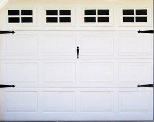 How To Spiff Up The Garage Door Garage Door Windows Fake Window Garage Door Design