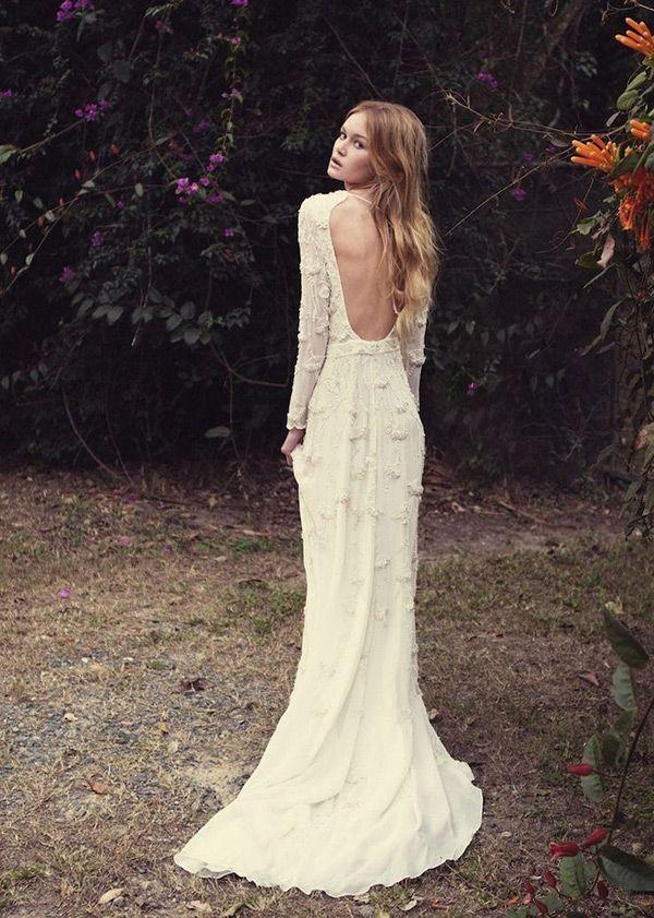 Backless Wedding