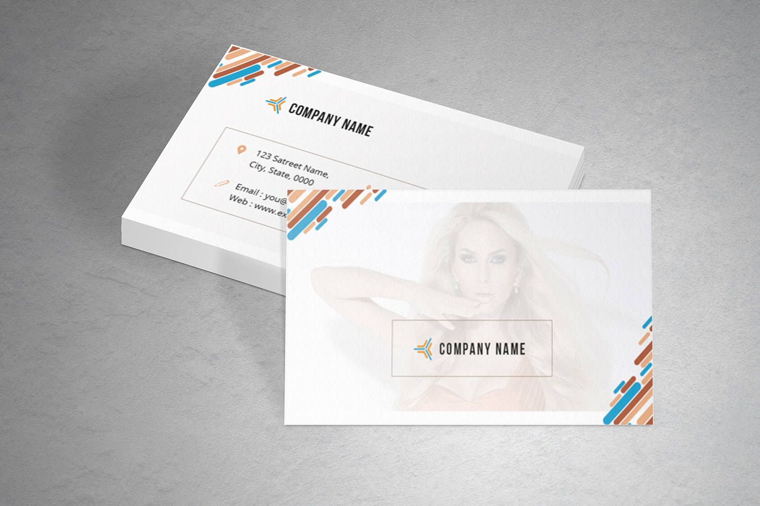 Business Card Template | Photographer Business Card | Photoshop ...
