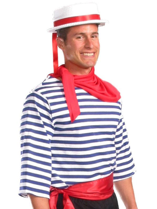 Check Out Gondolier Costume Top International Mens Costumes From Wholesale Halloween Costumes Mens Costumes Tops Fancy Dress Costumes