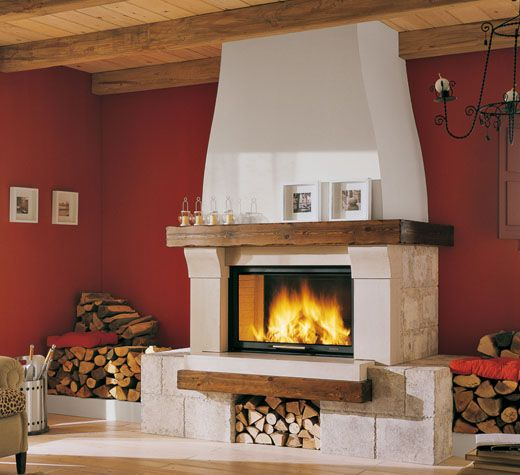 Fireplaces and stoves - Palazzetti | cammino | Pinterest | Caminetti ...