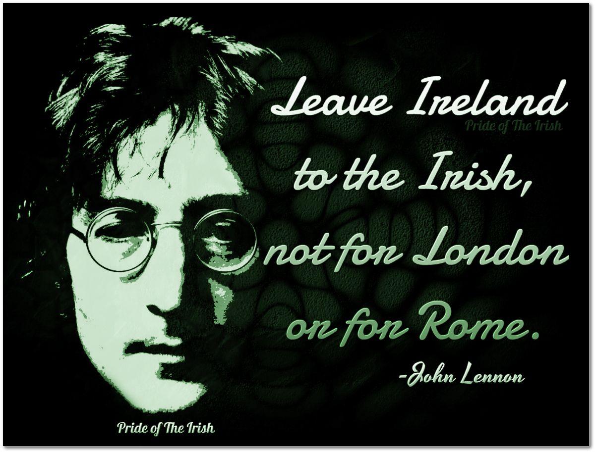 Sound Advice Lennon Irish History Irish Life