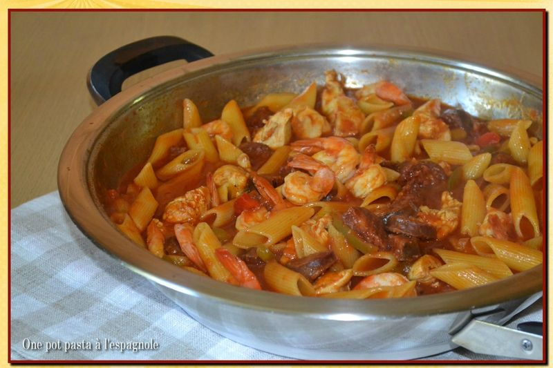 One pot pasta l 39 espagnole la cuisine de lilly pinterest pasta cuisine and food - La cuisine espagnole expose ...