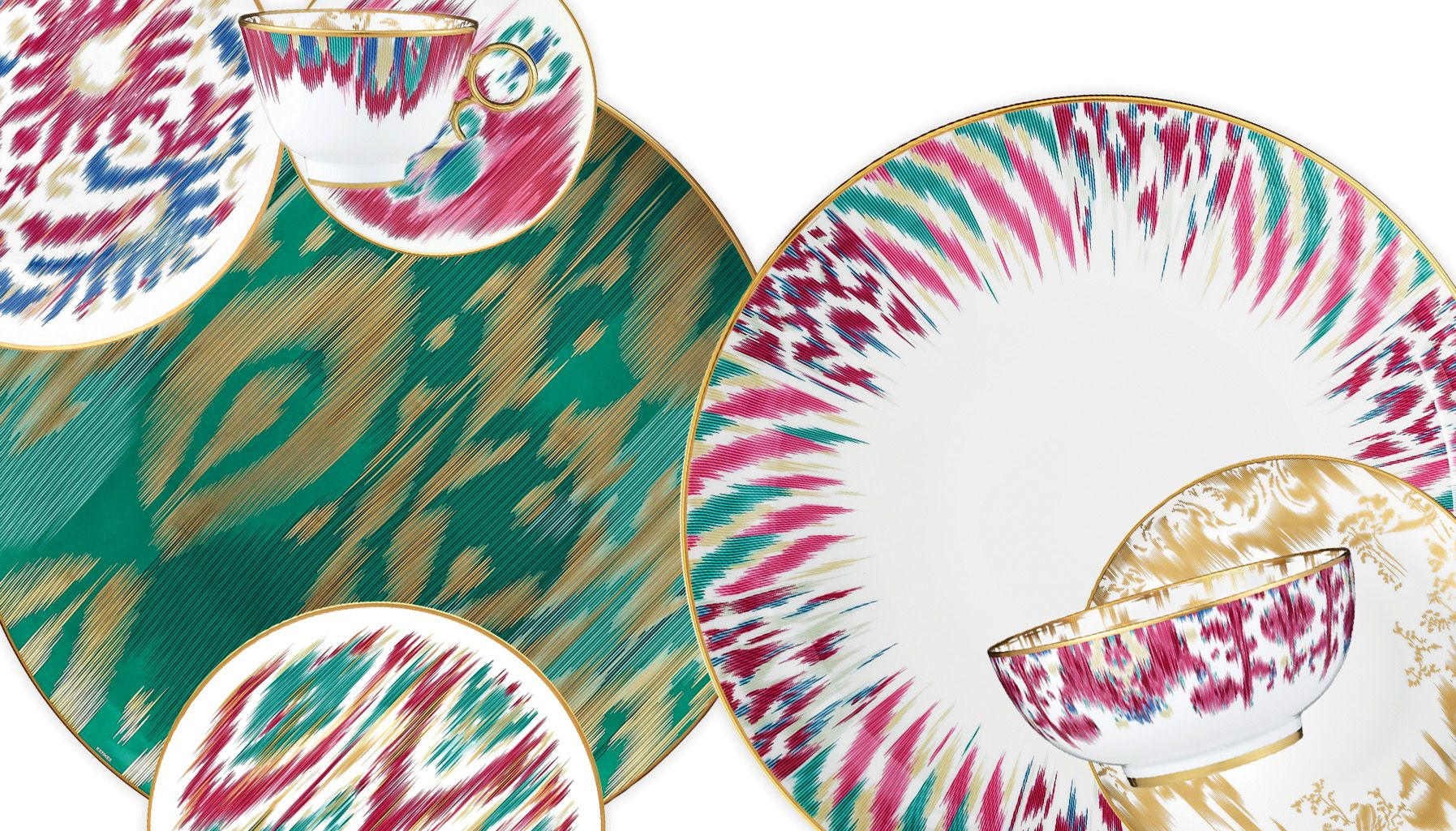 Etno`CONCEPT | Voyage en Ikat Collection  sc 1 st  Pinterest & Etno`CONCEPT | Voyage en Ikat Collection | table ware | Pinterest ...