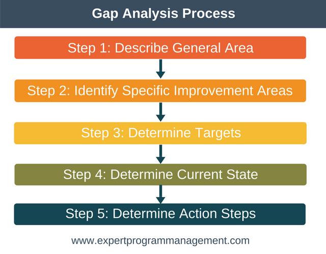 Gap Analysis Process  Project Management    Program