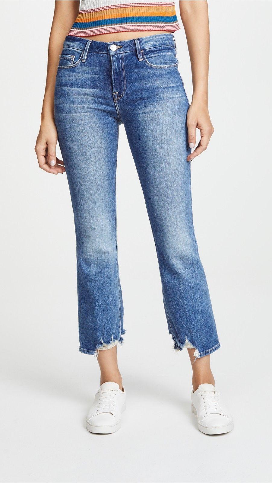 Crop Size Jeans 49 Denim Boot Le 24 New Frame Mini 99 Clapson xXXg41wf