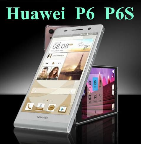 Original Huawei Ascend P6 U06 / P6S Mobile Phone Android 4 2