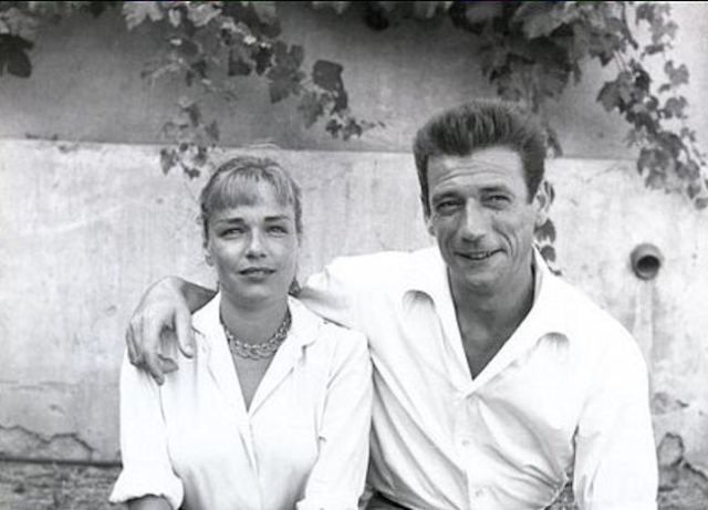 Simone Signoret and Yves Montand, 1959
