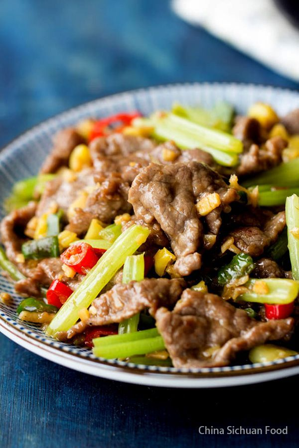 Hunan Beef A Spicy Beef Stir Fry Popular Across The Country Recipe In 2020 Food Recipes Cooking Chinese Food Food