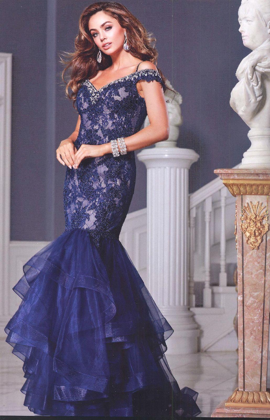 Prom dresses evening dresses by anabelucbrueanaeucbrueoff shoulder