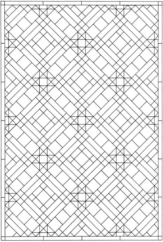 Creative Haven Mosaic Tile Designs Coloring Book Welcome