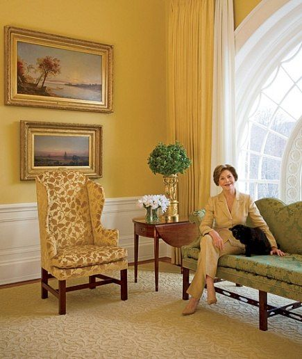 at home with president george w and laura bush in the white house rh ar pinterest com