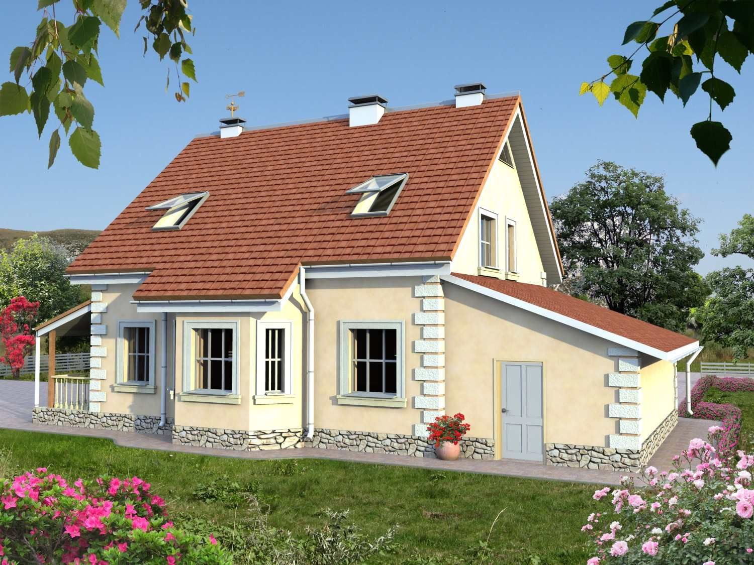 House plan u0027u0027ZABIREu0027u0027 162 sqm From the