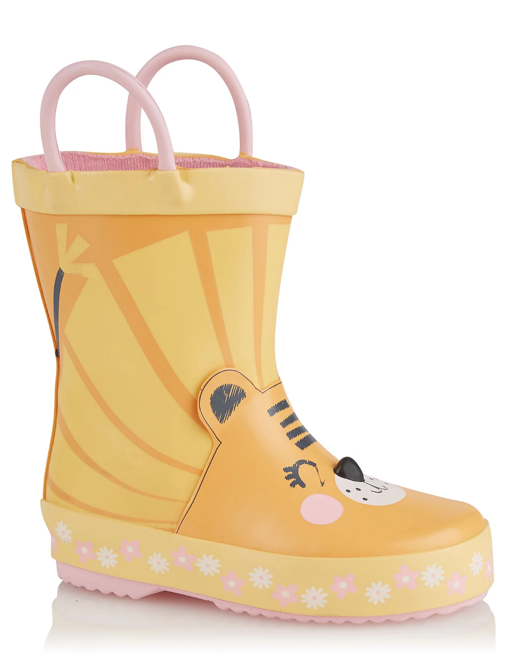 Walkers Yellow Lion Wellington Boots