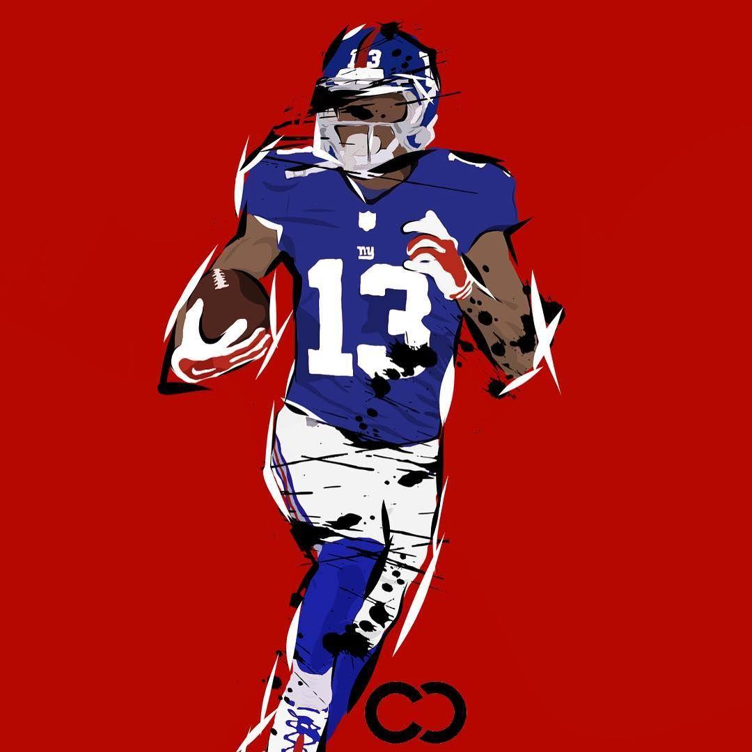 Who Do You Guys Want To See Designed Edited Drawn Nfl Football Wallpaper Beckham Jr Odell Beckham Jr