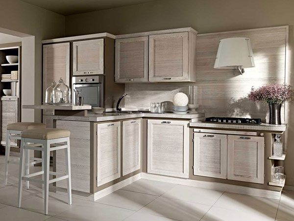 A molti di voi piacciono le cucine moderne in muratura, lo sappiamo ...