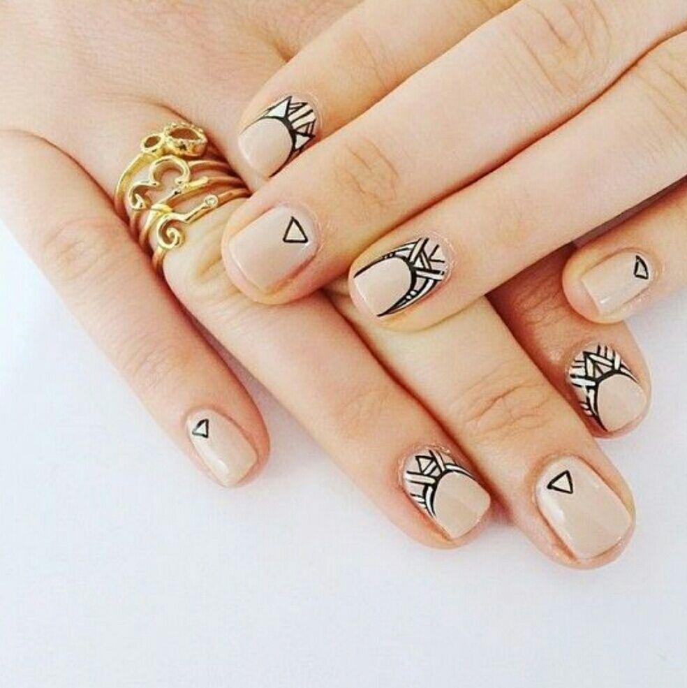 Boho Nail Art Applique Stickers Nwt Boho Nails Cute Nails
