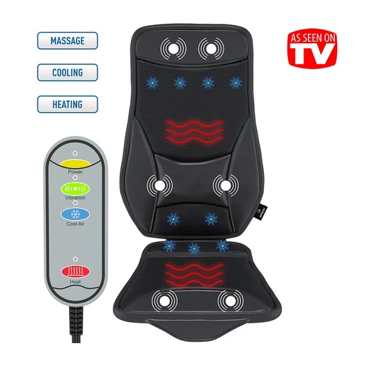 Daily Deal Massage Cushions Cooling/Heating and Massage Seat Cushion – UntilGone.com