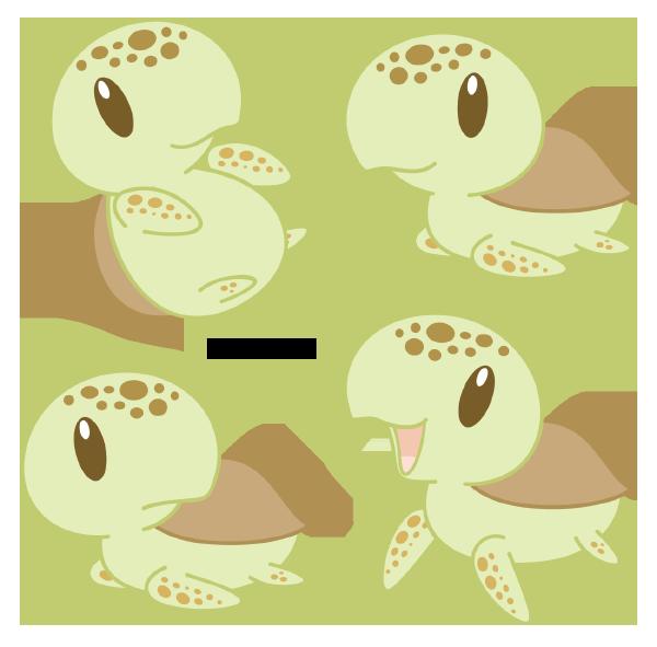 Chibi Loggerhead Sea Turtle By Daieny Deviantart Com On
