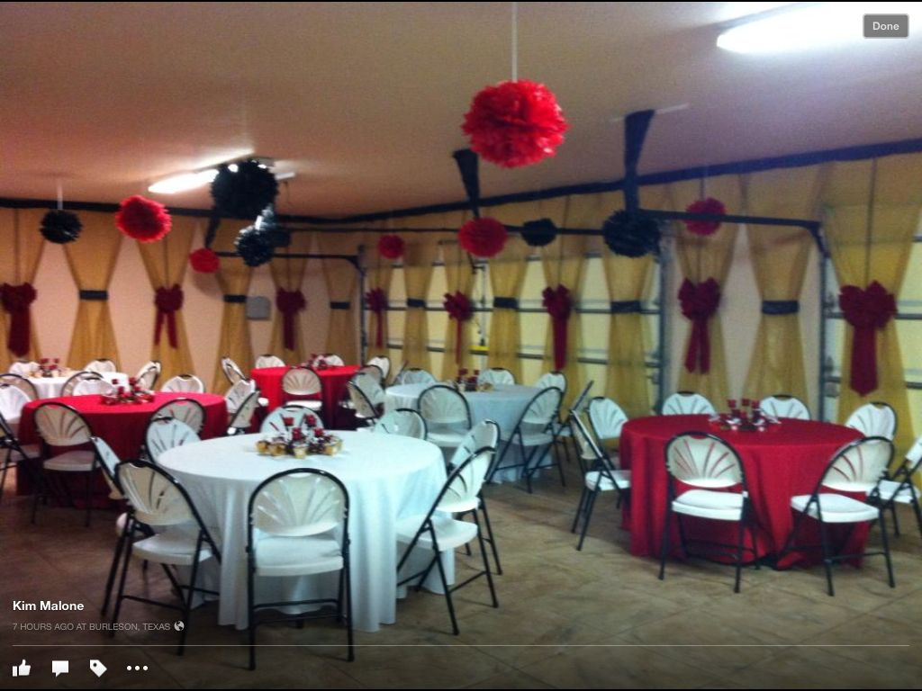 Christmas Party in Garage | Holidays and Events | Pinterest ...