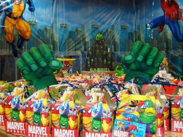 MARVEL SUPERHEROES Birthday Party Ideas | Birthday party ideas and ...