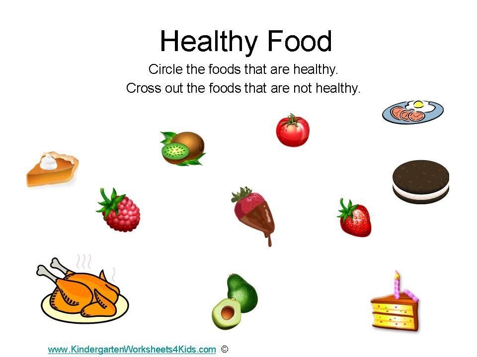 Printables Healthy Eating For Kids Worksheets healthy food preschool and google on pinterest