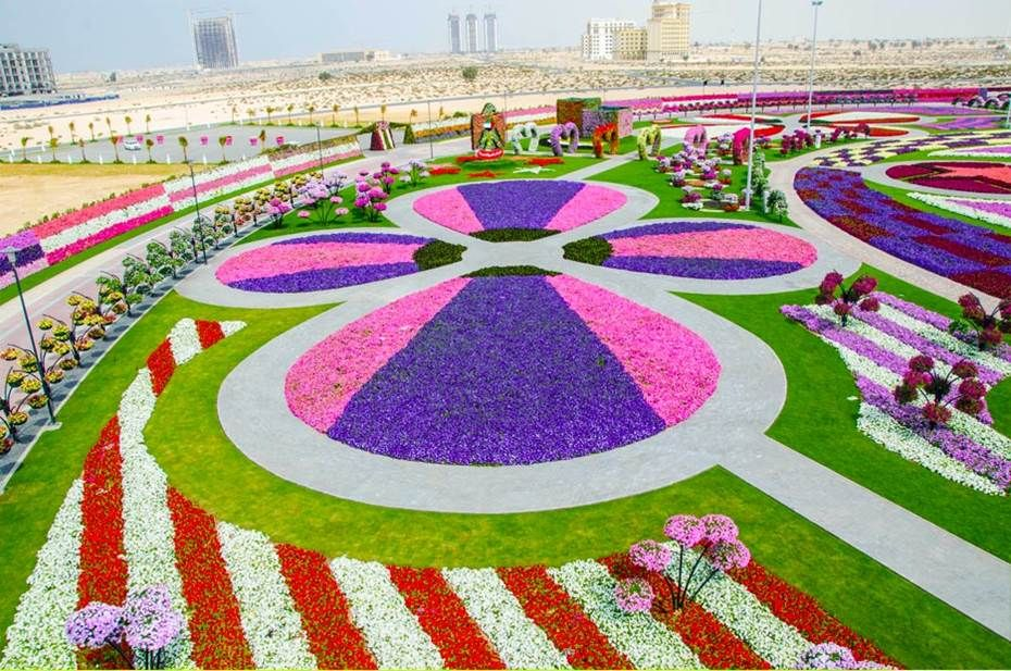 Dubai Miracle Garden 5 Most Beautiful Gardens In The World