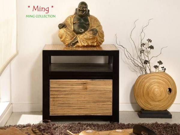 Schlafzimmer Bambus ~ Bambus nachtkonsole ming bambusmöbel für dein schlafzimmer pinterest