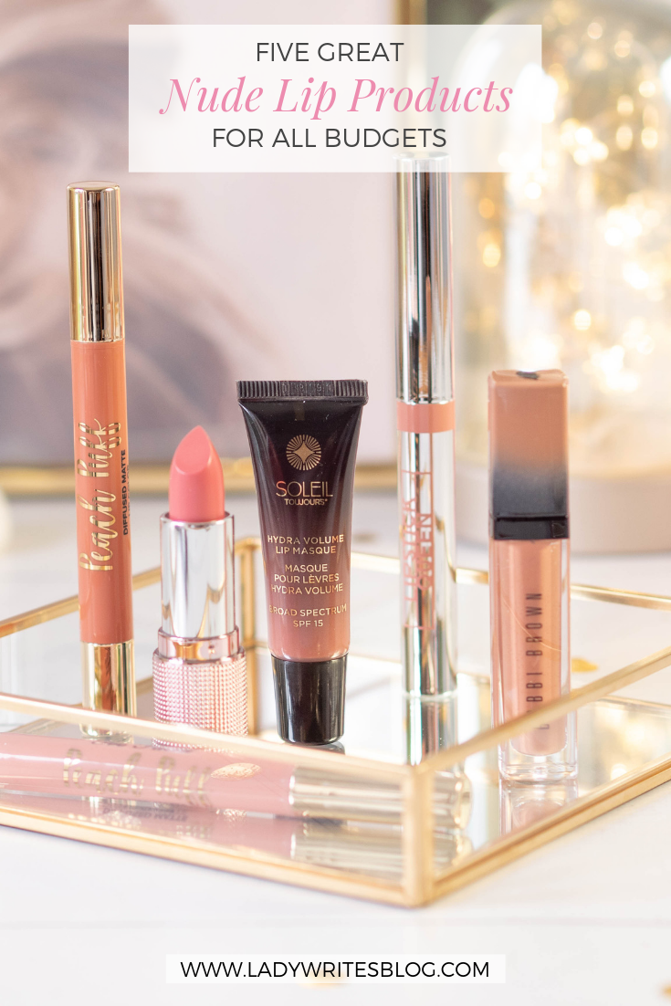 Five Great Nude Lip Products For All Budgets | [Group Board
