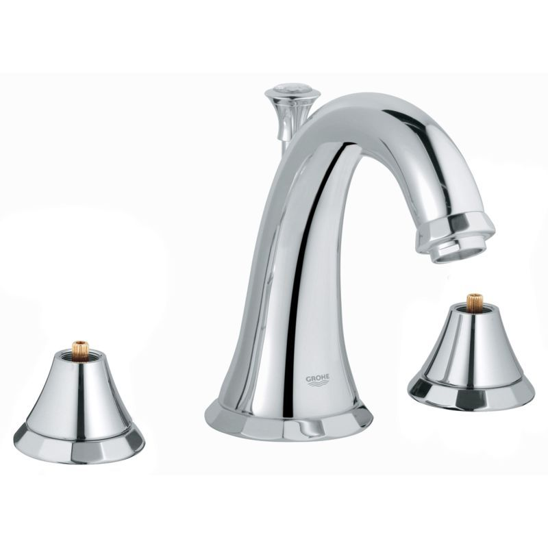 grohe 20 124 a kensington 1 2 gpm widespread bathroom faucet with rh pinterest cl