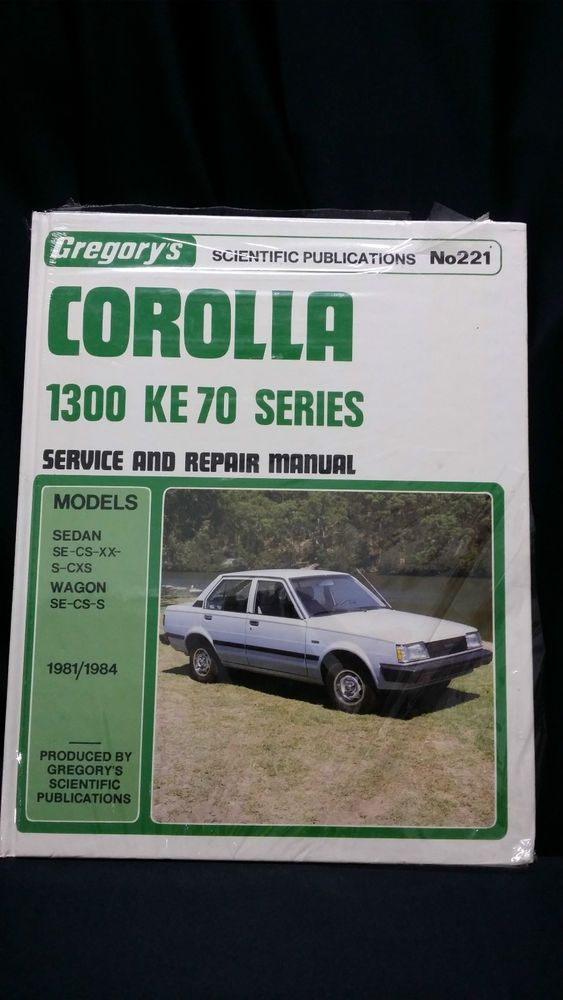 gregory s corolla 1300 ke 70 series service repair manual charity rh pinterest com toyota corolla ee90 repair manual pdf toyota corolla ee90 repair manual pdf