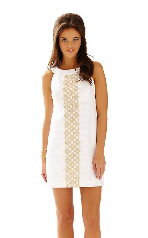 Lilly Pulitzer Jacqueline A-Line Shift Dress in Resort White. | My ...