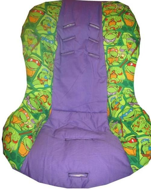 Teenage Mutant Ninja Turtles Car Seat Cover Fits Britax Universal Fit To All 5 Point Harness Seats On Etsy 5299