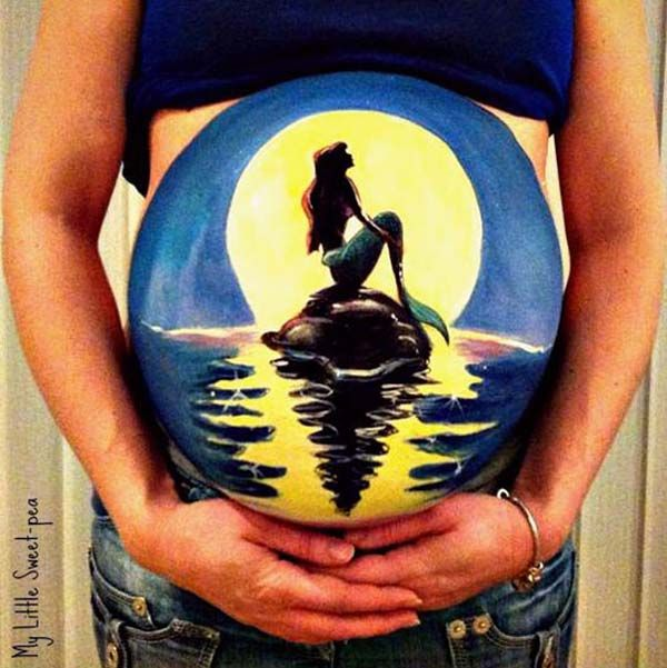 Image result for mermaid bump