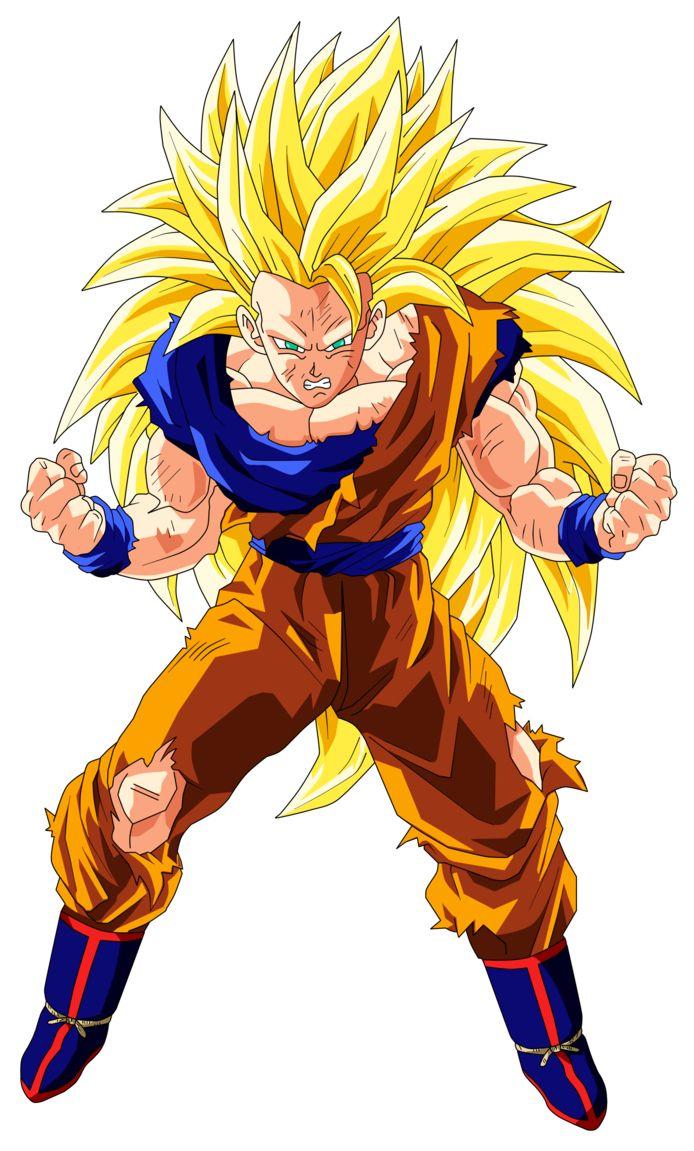 Goku Super Saiyan 3 By Originalsupersaiyan On Deviantart Goku