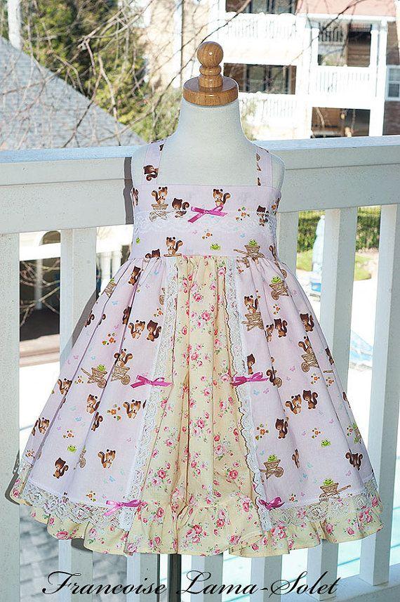 birthday twirl dress pink yellow easter dress ruffled dress rh pinterest es