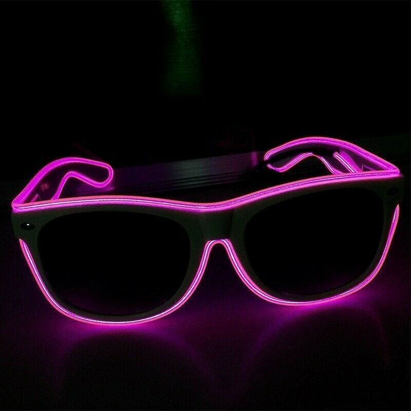 Fashion Flashing LED Light Up Sunglasses Glasses Concert Rave Party Accessories