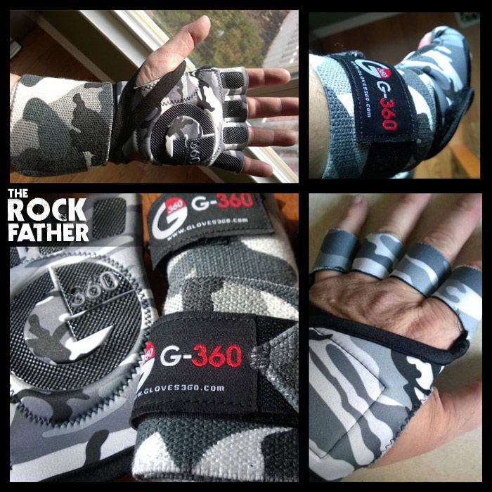 Review: G-360 Workout Gloves by G-Loves