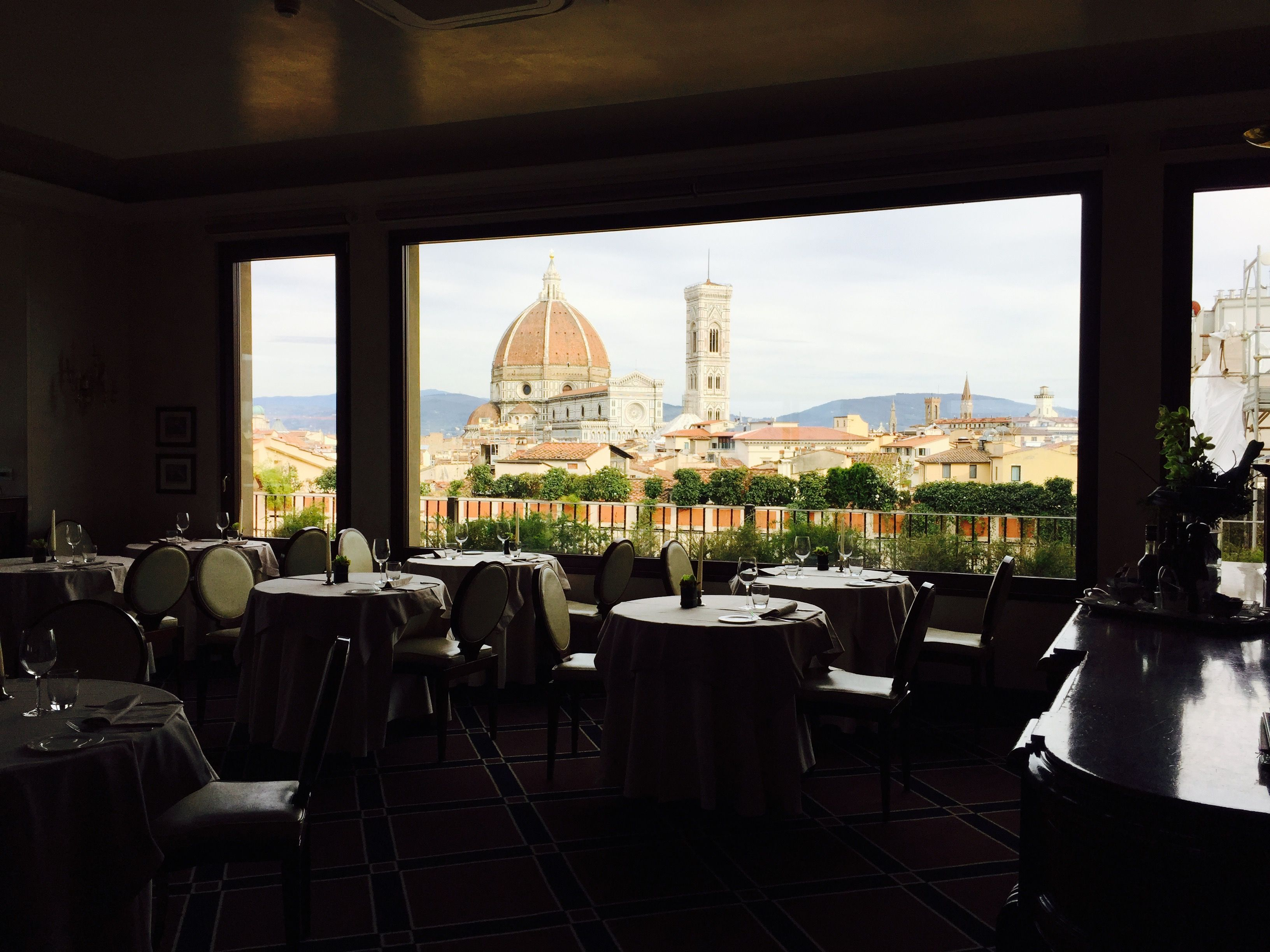 look at that view while eating at the hotel baglioni florence rh pinterest co uk