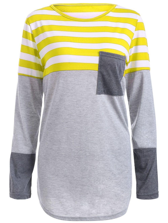 Striped pocket tunic tshirt clothes to order pinterest tunics