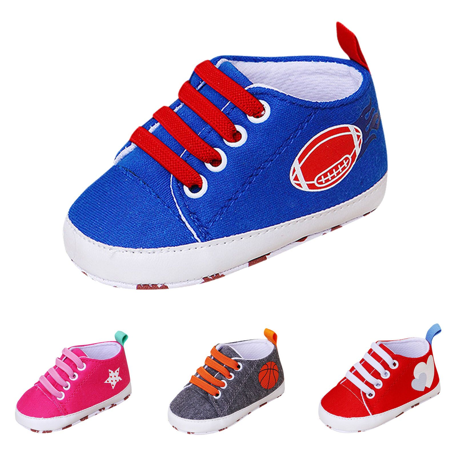 Vanbuy Baby Boys Girls Shoes Sneakers Infant First Walker Outdoor Shoes
