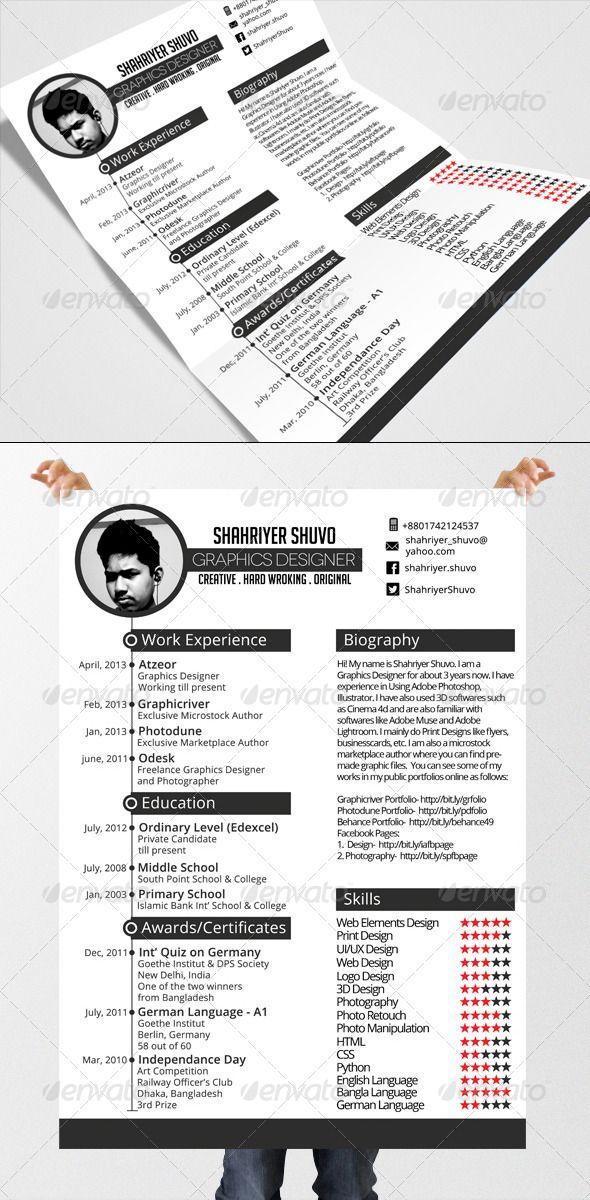 minimal timeline resume  resume resume design template