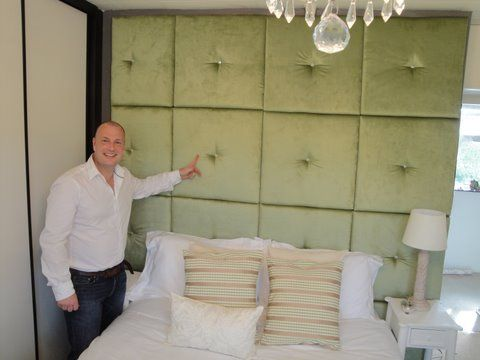 Portfolio and pictures of upholstered wall panels projects ...