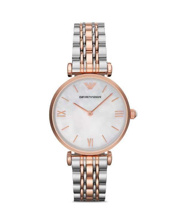 90f8608265 Three Hand Stainless Steel Watch, 43 mm in 2019 | Jewellery | Armani ...